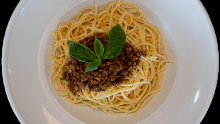 Bolognese Pasta (κόκκινη σάλτσα)