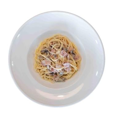 Carbonara Pasta (άσπρη σάλτσα)
