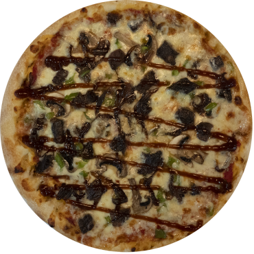 Jack Daniels Beef Pizza
